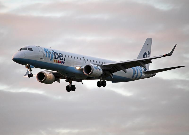 G-FBED Bombardier ERJ 190-200 LR (MAN) Flybe