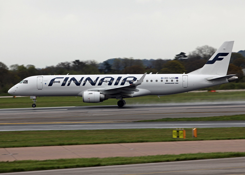 OH-LKG Embraer 190 (MAN) Finnair
