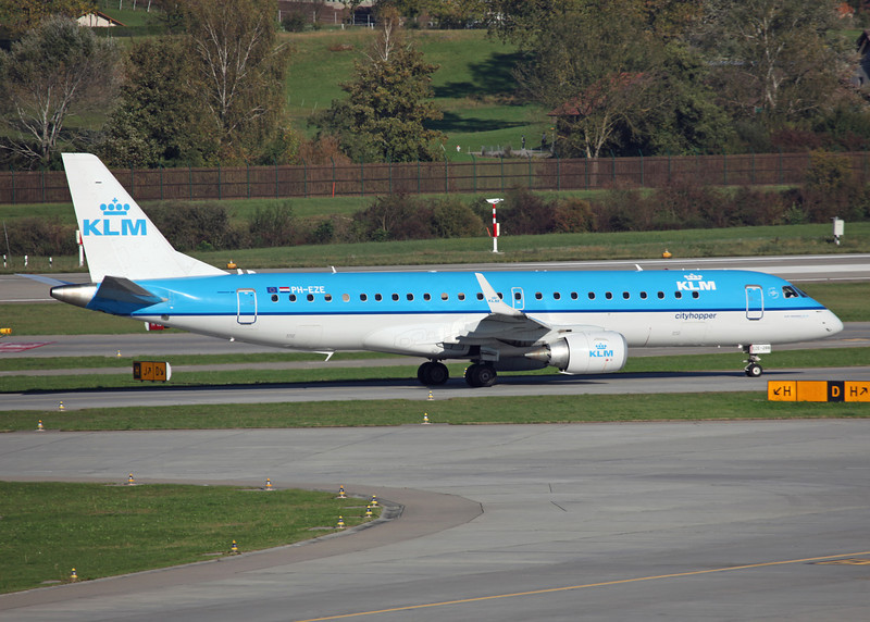 PH-EZE Embraer ERJ190-100STD (Zurich) KLM cityhopper
