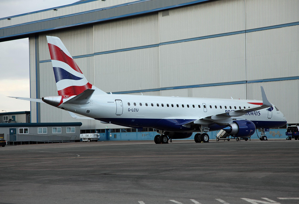 G-LCYJ Embraer ERJ 190-100SR (MAN) British Airways [city flyer]