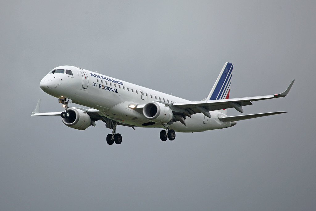 F-HBLH Embraer ERJ-190-100LR (MAN) Air France (3)