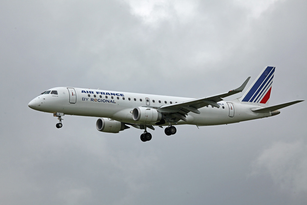 F-HBLH Embraer ERJ-190-100LR (MAN) Air France (2)