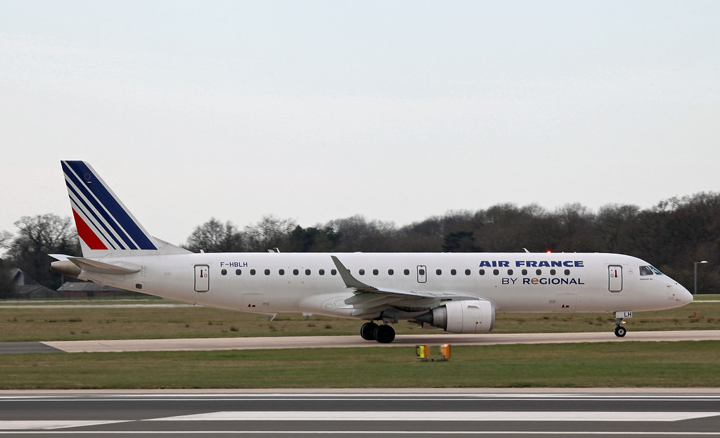 F-HBLH Embraer ERJ-190-100LR (MAN) Air France