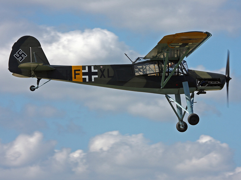 N156FS [KF-XL] Fieseler Fi156C-2 Storch (Polk City) Fantasy of Flight