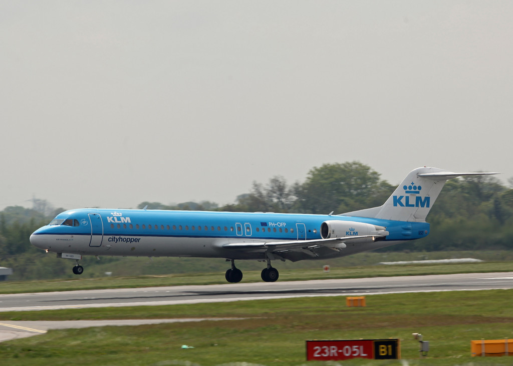PH-OFP Fokker 100 (MAN) KLM Cityhopper