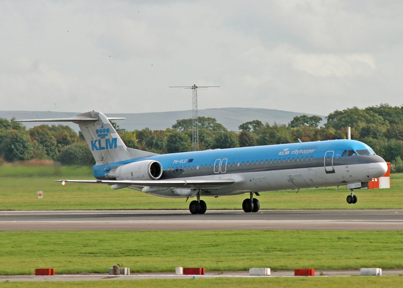 PH-KLD Fokker 100 F28-0100 (MAN) KLM Cityhopper UK Ltd