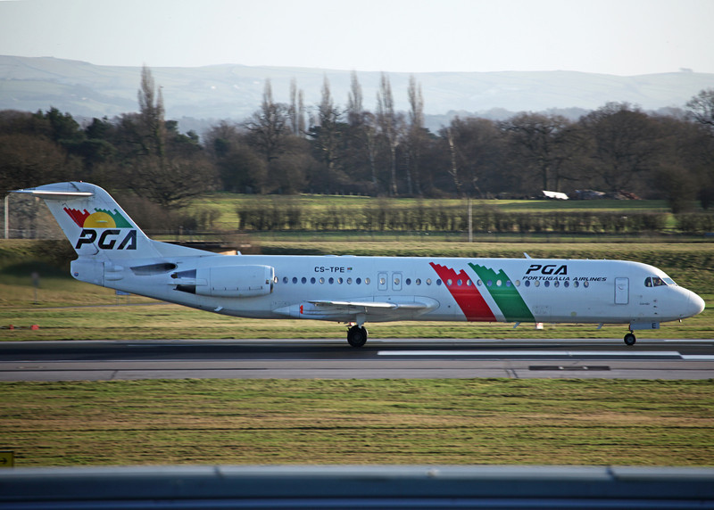 CS-TPE Fokker 100 [F28-100] (MAN) Potugalia Airlines
