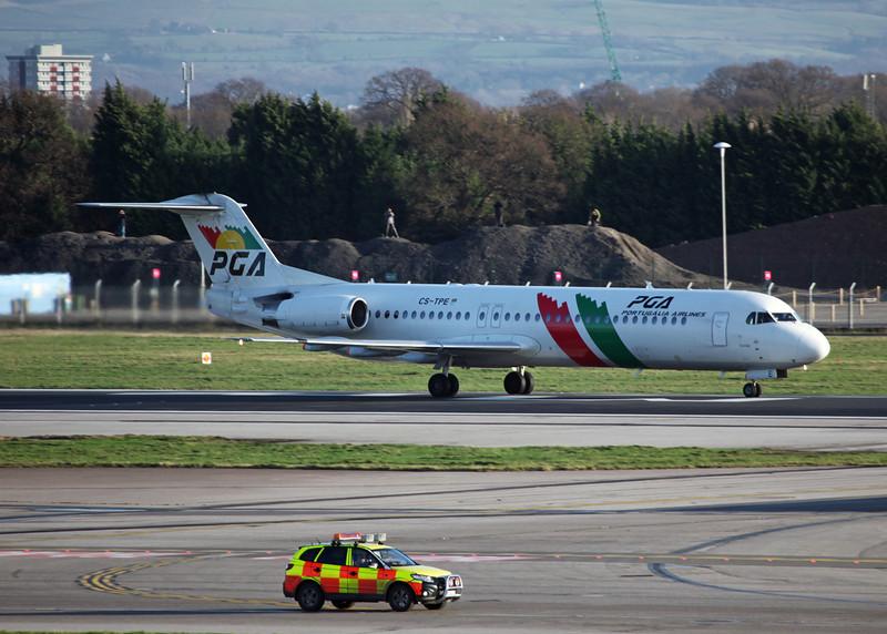 CS-TPE Fokker 100 [F28-100] (MAN) Potugalia Airlines 2