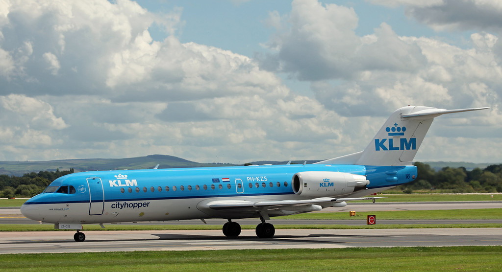 PH-KZS Fokker 70 (F28-0070) (MAN) KLM Cityhopper