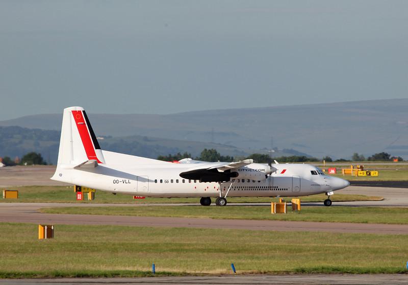 OO-VLL Fokker F50 (MAN) CityJet [VLM Airlines]