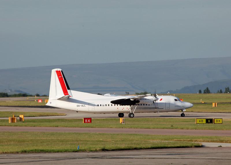 OO-VLL Fokker F50 (MAN) CityJet [VLM Airlines] 3