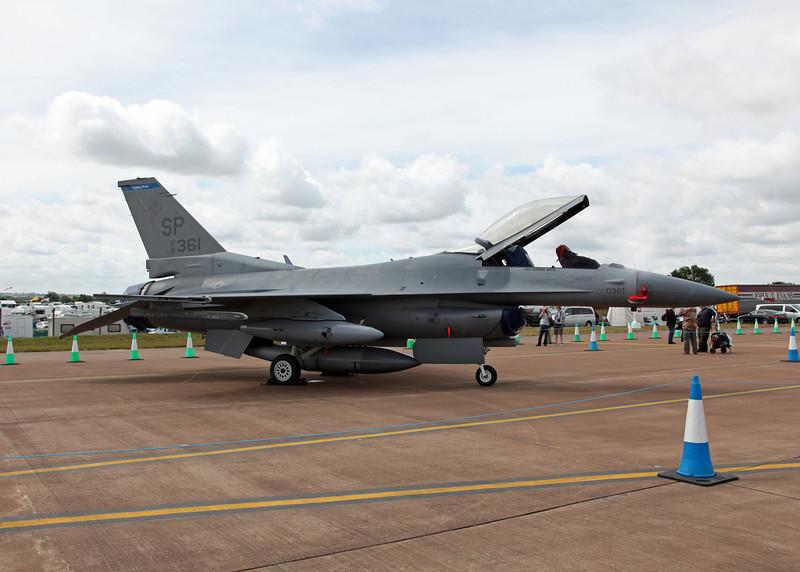 91-360 General Dynamics F-16C Fighting Falcon (RAF Fairford) United States Air Force (RIAT 2010) (2)