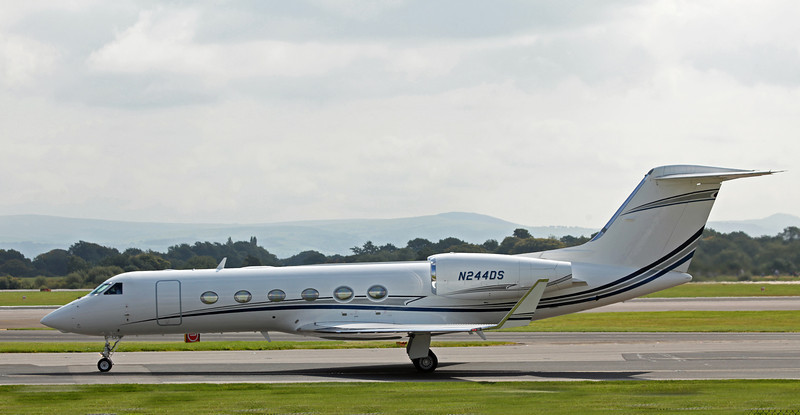 N244DS Gulfstream GIV-X [G450] (MAN) DS Aviation LLC