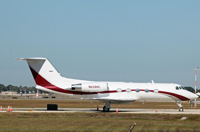 N628HC Gulfstream II (SRQ) Seagrave Aviation