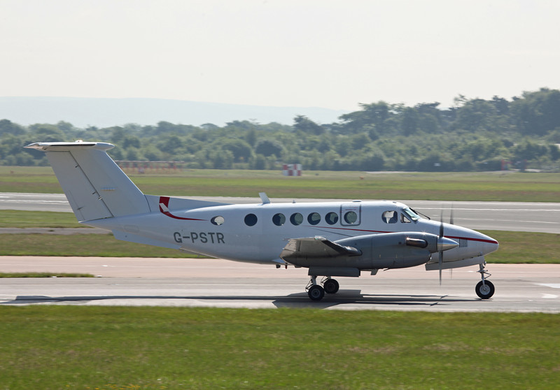 G-PSTR Beech 200 Super King Air (MAN) Red Air LLP