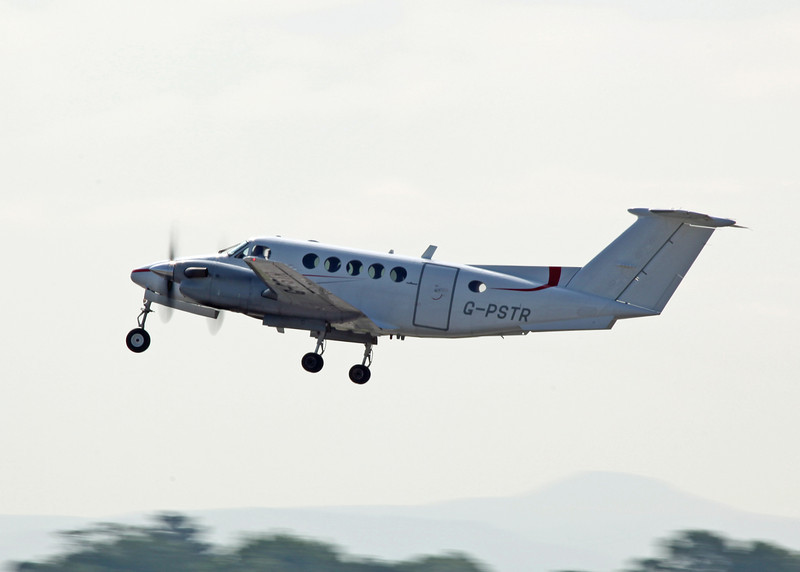 G-PSTR Beech 200 Super King Air (MAN) Red Air LLP (2)