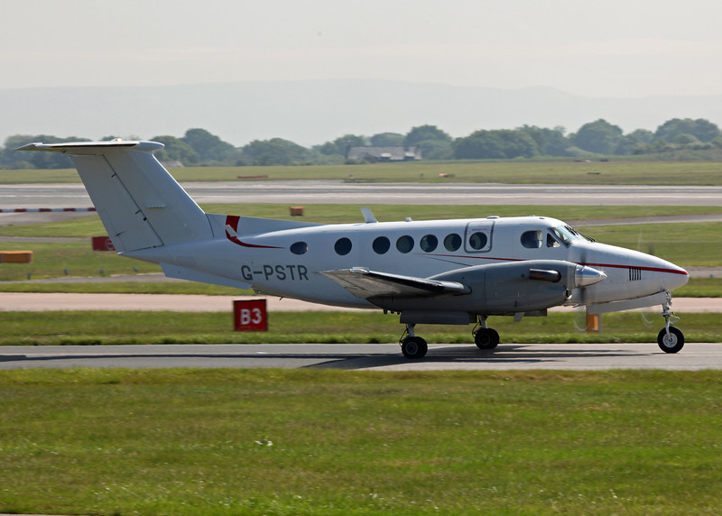 G-PSTR Beech 200 Super King Air (MAN) Red Air LLP (4)