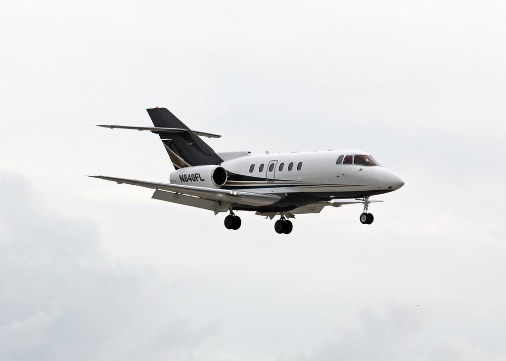N840FL Hawker Beechcraft 800XP (Sarasota SRQ) Private