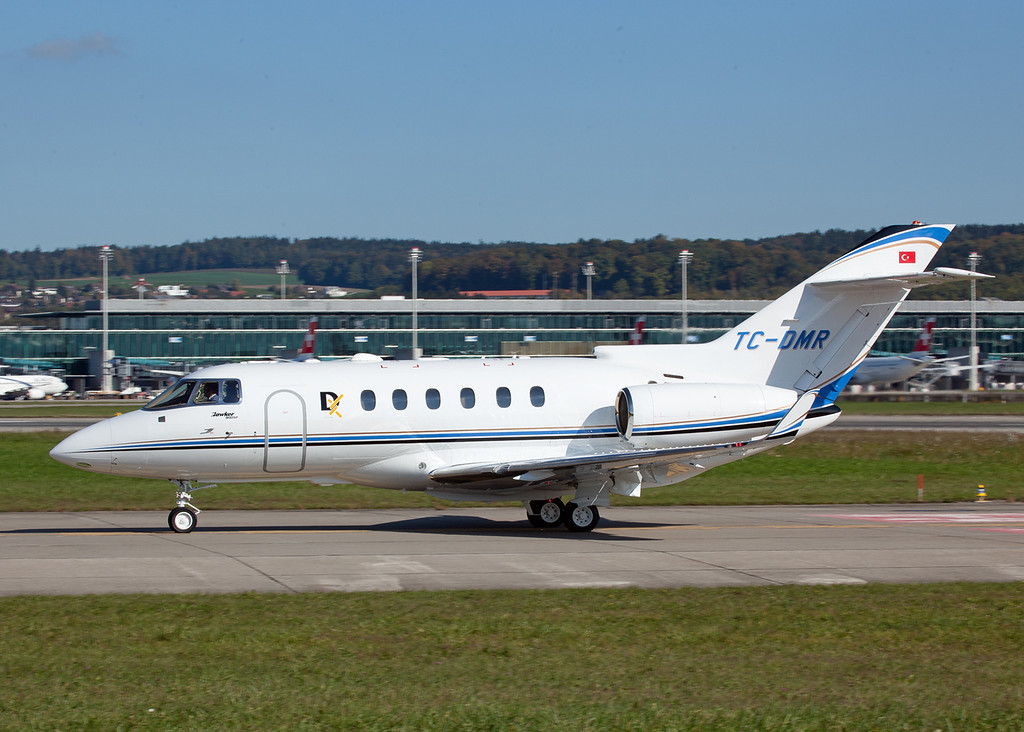 TC-DMR Hawker Beechcraft Corp Hawker 900XP (Zurich) Private
