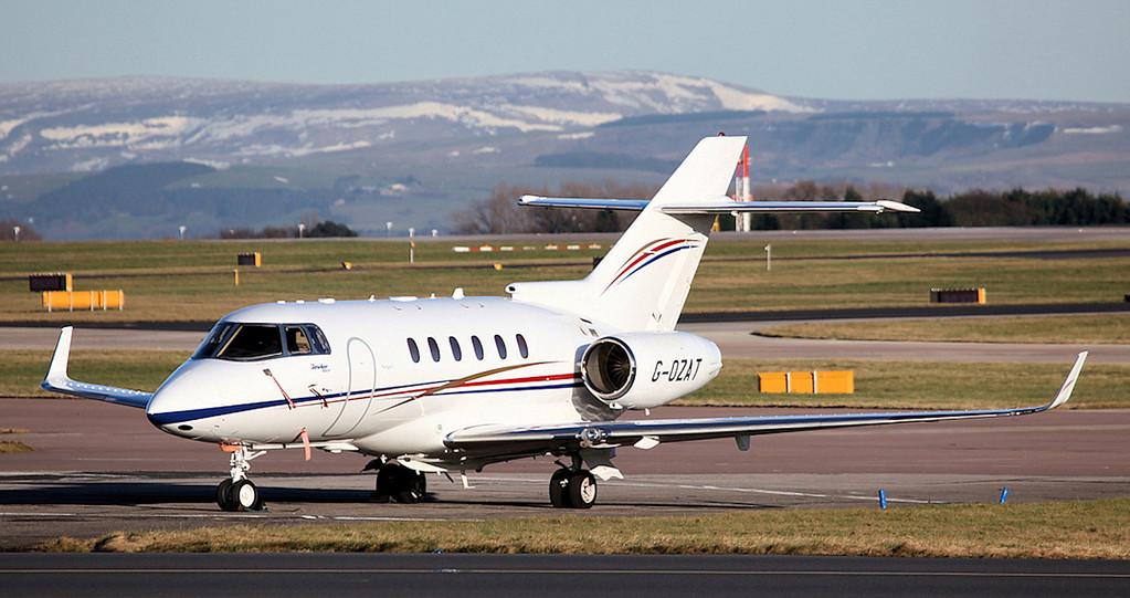 G-OZAT Hawker Beechcraft 900XP (MAN) Hangar 8 (2)