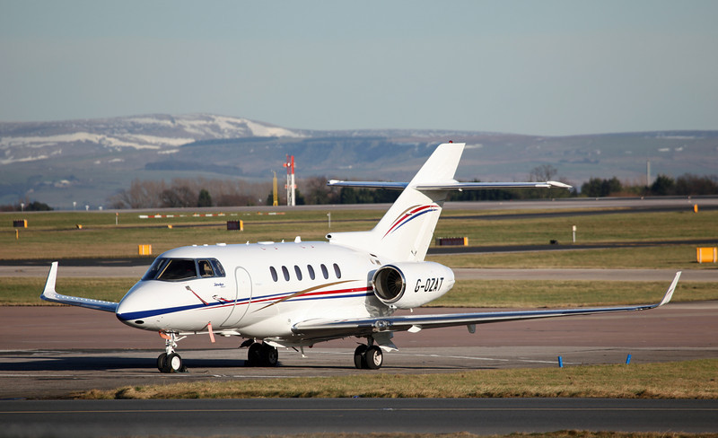 G-OZAT Hawker Beechcraft 900XP (MAN) Hangar 8