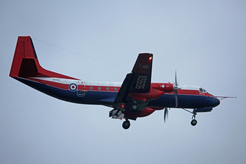 XS606 Hawker Siddeley HS-780 Andover C1 (Boscombe Down) QinetiQ 1
