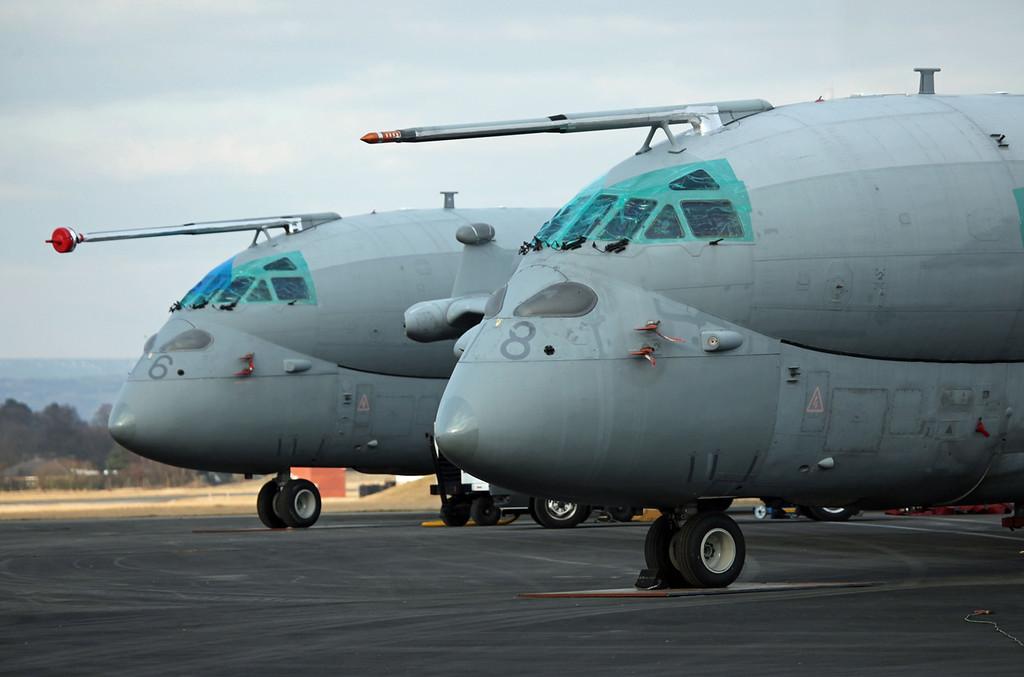 ZJ516 & ZJ518 BAE Systems Nimrod MRA 4 (BAe Woodford) Royal Air Force (RAF)