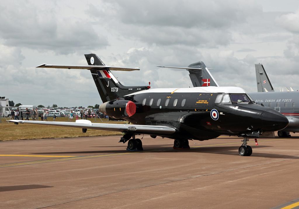 XS-731 Hawker Siddley-Dominie (RAF Fairford) Royal Air Force [RIAT 2010]