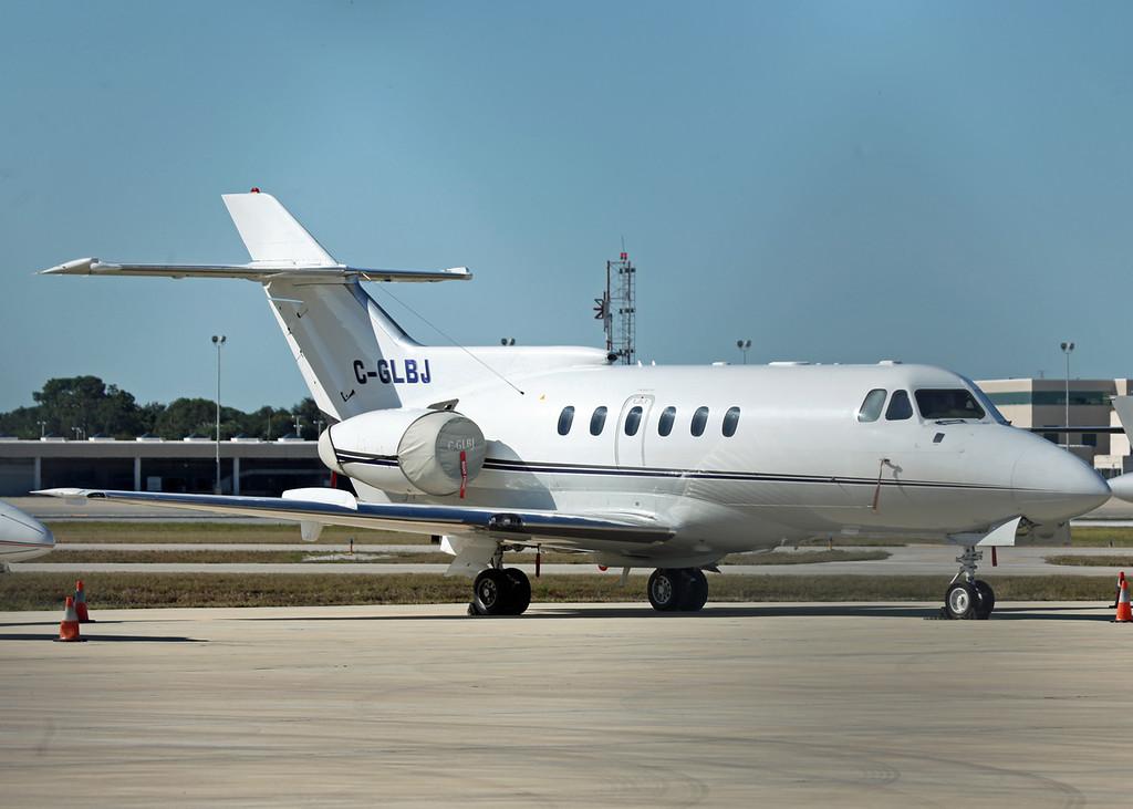 C-GLBJ HS-125 SERIES 700A (SRQ) Decair 2