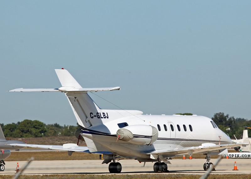 C-GLBJ HS-125 SERIES 700A (SRQ) Decair