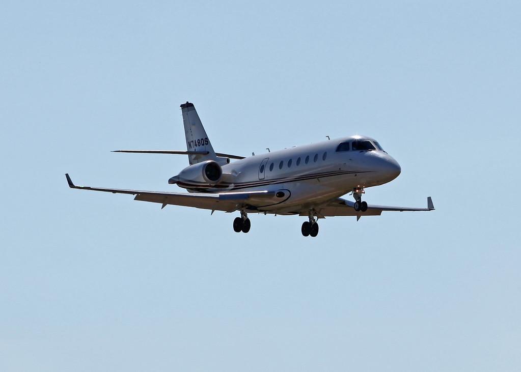 N748QS Israel Aircraft Industries Gulfstream 200 (Sarasota international Airport) NetJets Sales Inc [2]