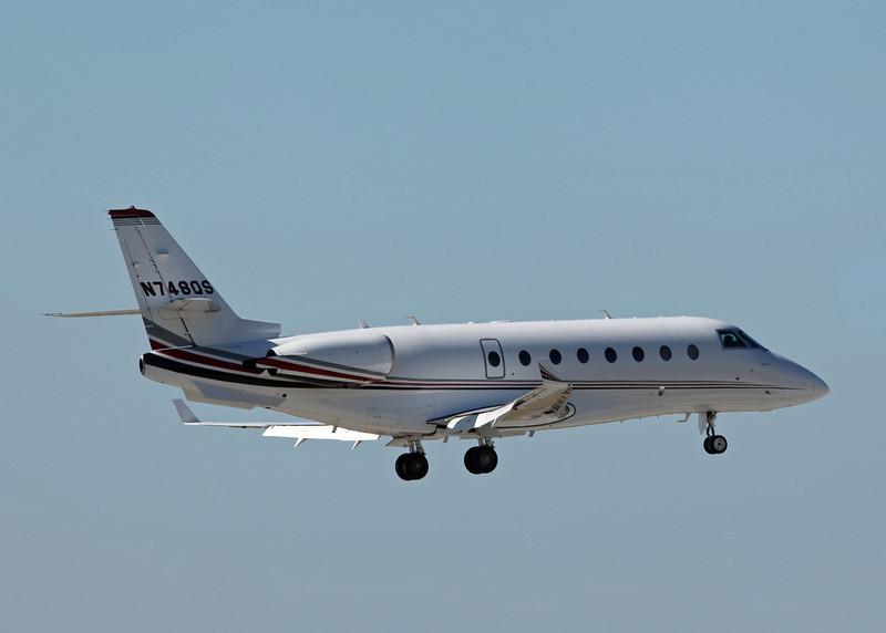 N748QS Israel Aircraft Industries Gulfstream 200 (Sarasota international Airport) NetJets Sales Inc