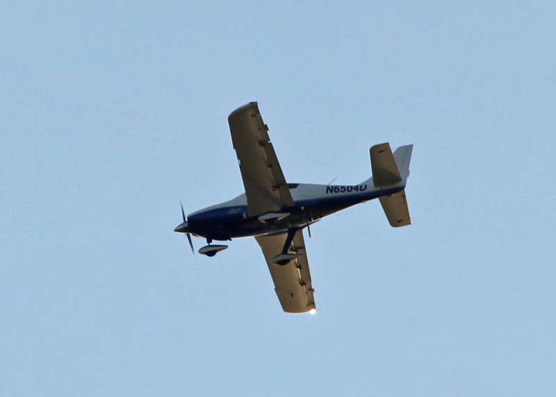 N6504D Lancair LC42-550FG (in-flight over Bradenton) M&S Aviation Services