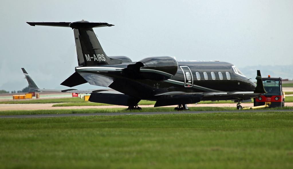M-AIRS Learjet 60 (MAN) Maiton Air
