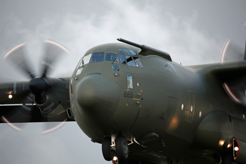 Lockheed C130 ZH885 - RAF Brize Norton