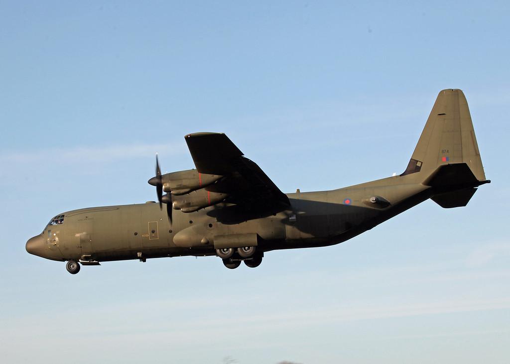 ZH874 Lockheed C-130J-30 Hercules C 4 (RAF Brize Norton) Royal Air Force 2