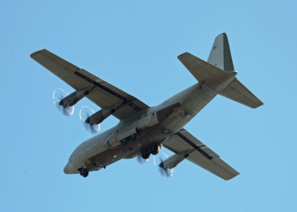 ZH889 Lockheed Martin C-130J Hercules C5 (RAF Brize Norton) Royal Air Force 2