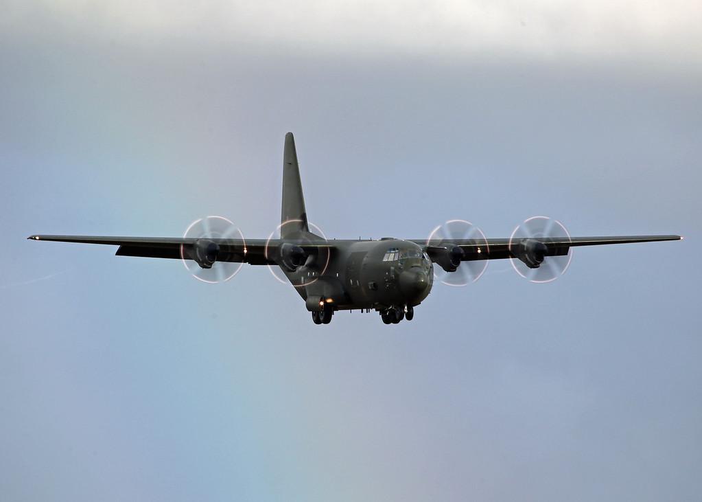 Lockheed C130 ZH885 - RAF Brize Norton [1]