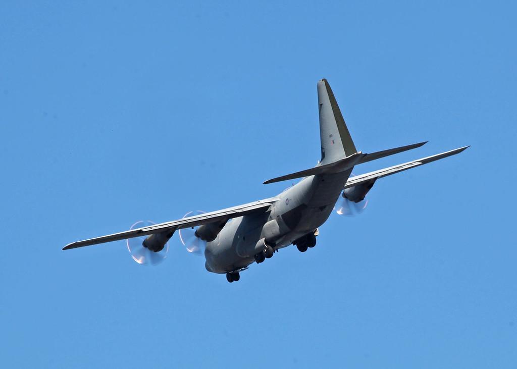 ZH889 Lockheed Martin C-130J Hercules C5 (RAF Brize Norton) Royal Air Force 3