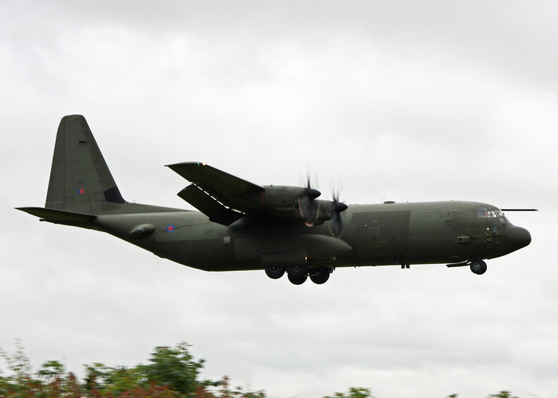 ZH874 Lockheed C-130J 'Hercules' (RAF Brize Norton) Royal Air Force