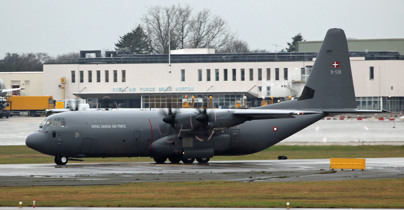 B-538 Lockheed C130J 'hercules' Royal Danish Air Force [3]