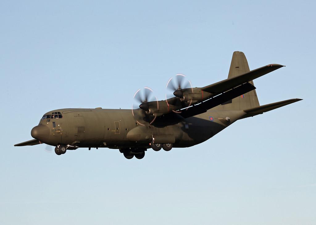 ZH874 Lockheed C-130J-30 Hercules C 4 (RAF Brize Norton) Royal Air Force 5