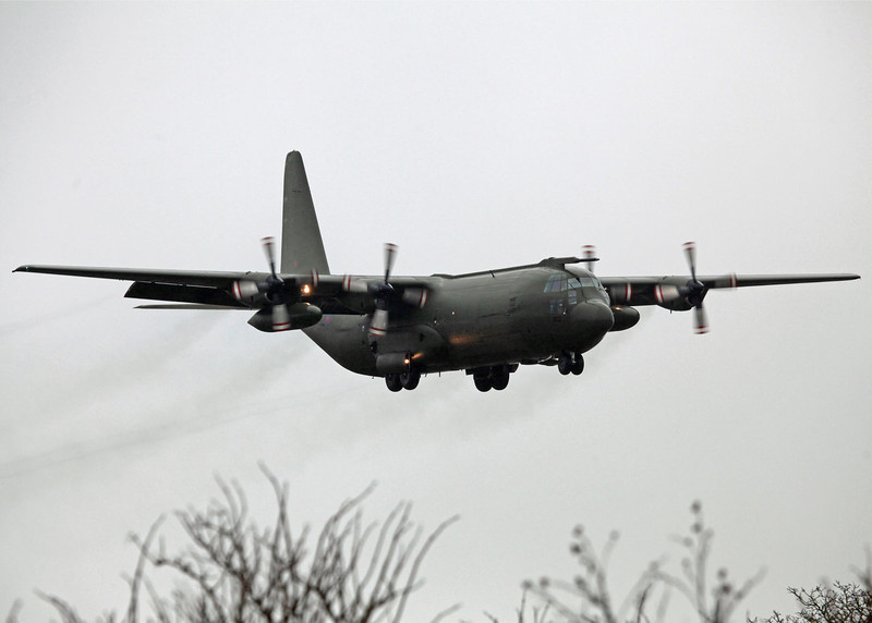 XV202 Lockheed Hercules C130K (RAF Lynham) Royal Air Force (Now Retired)