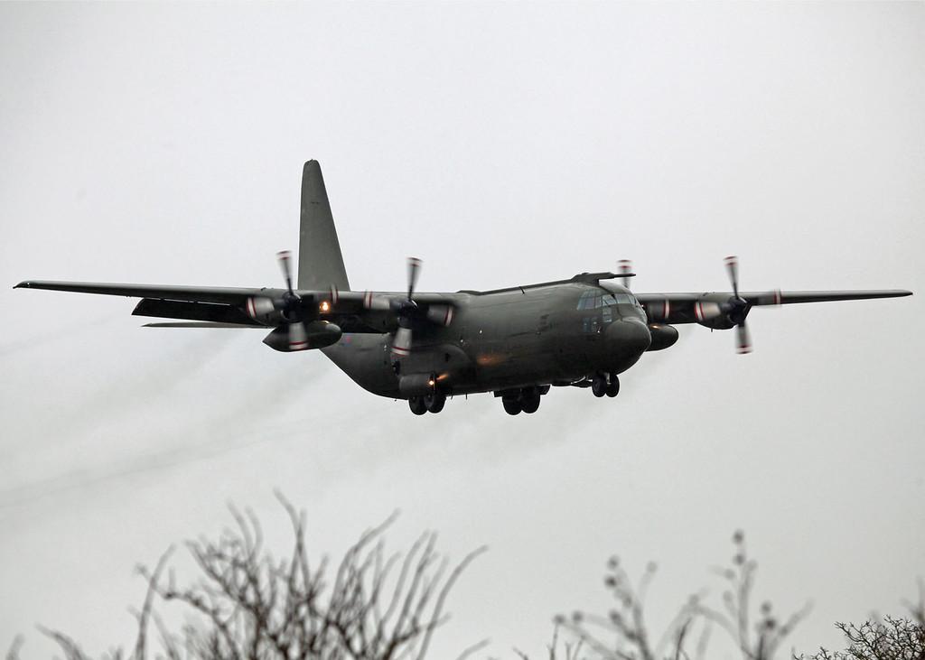 XV202 Lockheed Hercules C130K (RAF Lynham) Royal Air Force (Now Retired)