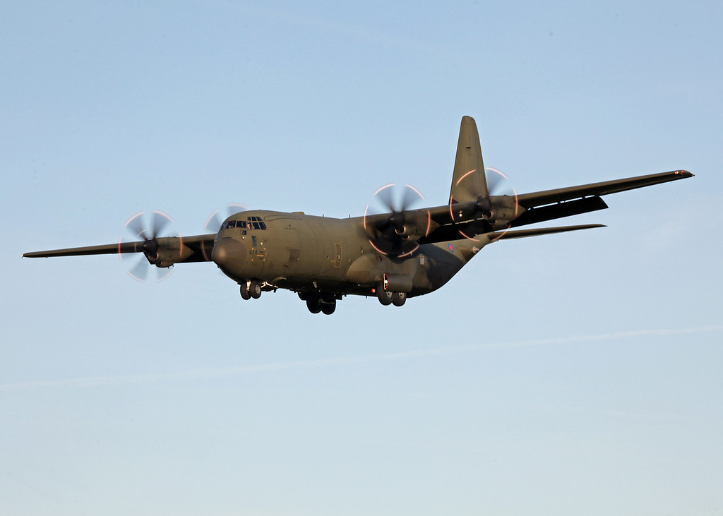 ZH874 Lockheed C-130J-30 Hercules C 4 (RAF Brize Norton) Royal Air Force 4