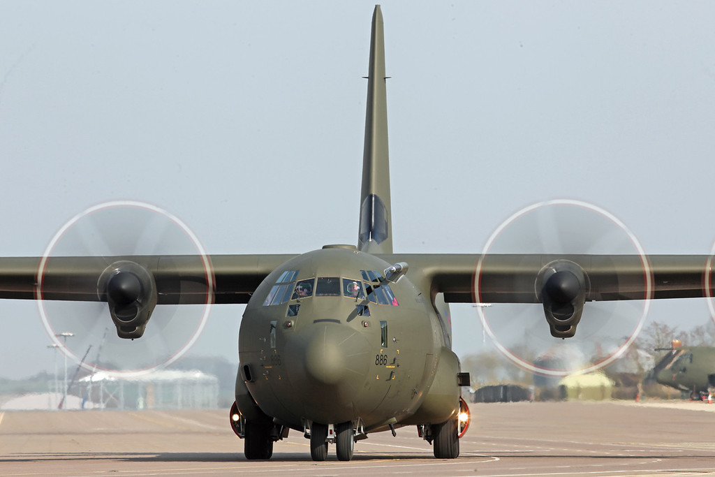 ZH886 Lockheed C-130J Hercules C5 (RAF Brize Norton) Royal Air Force [2]