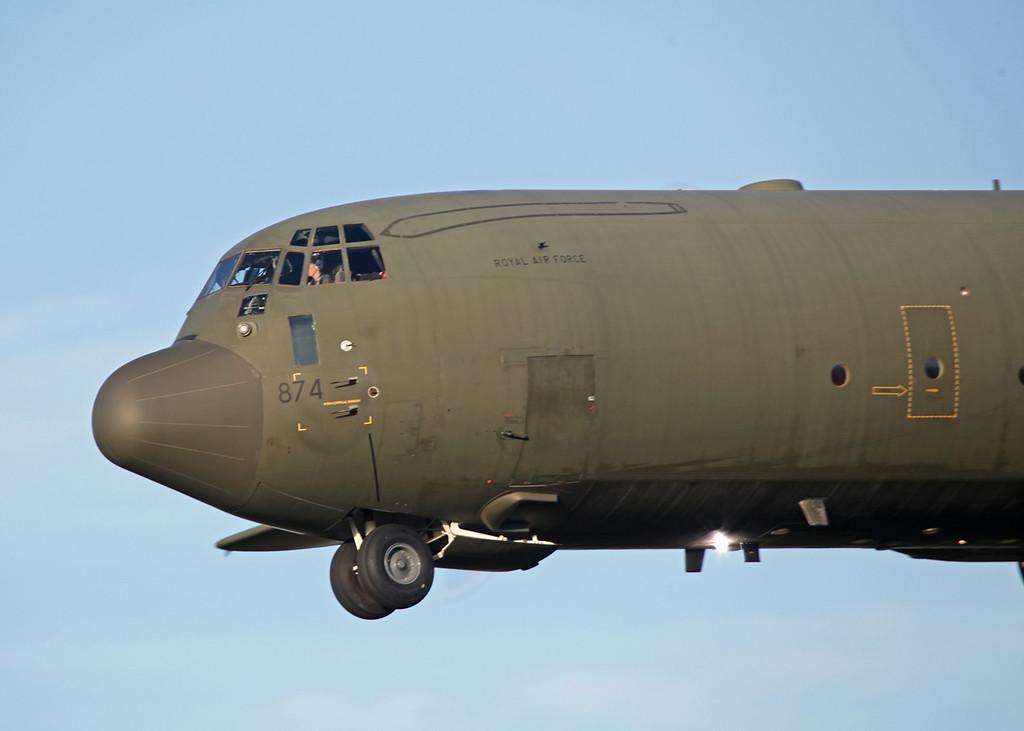 ZH874 Lockheed C-130J-30 Hercules C 4 (RAF Brize Norton) Royal Air Force 3