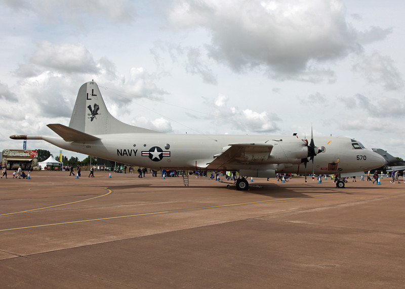 158570 Lockheed P3 Orion (RAF Fairford) United States Navy [RIAT 2010]