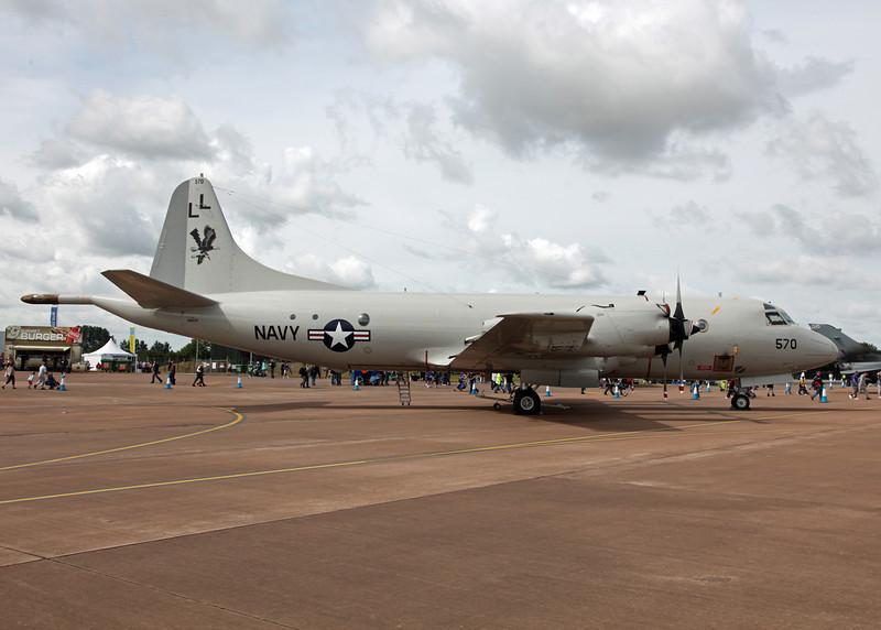 158570 Lockheed P3 Orion (RAF Fairford) United States Navy [RIAT 2010]