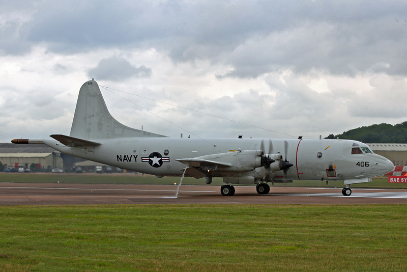 161406 Lockheed P3 Orion (RAF Fairford) US Navy